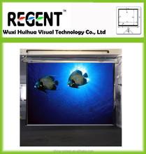 "120"" 4:3 Electric Projection Screen/ Square Shape Casing/ Vivid Color Image"