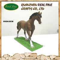 Resin horse statue,decoration horse racing
