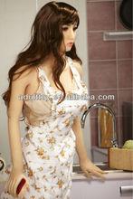 125 cm 20 kg chino belleza Betty ama de casa completo silicona real muñeca de la muchacha
