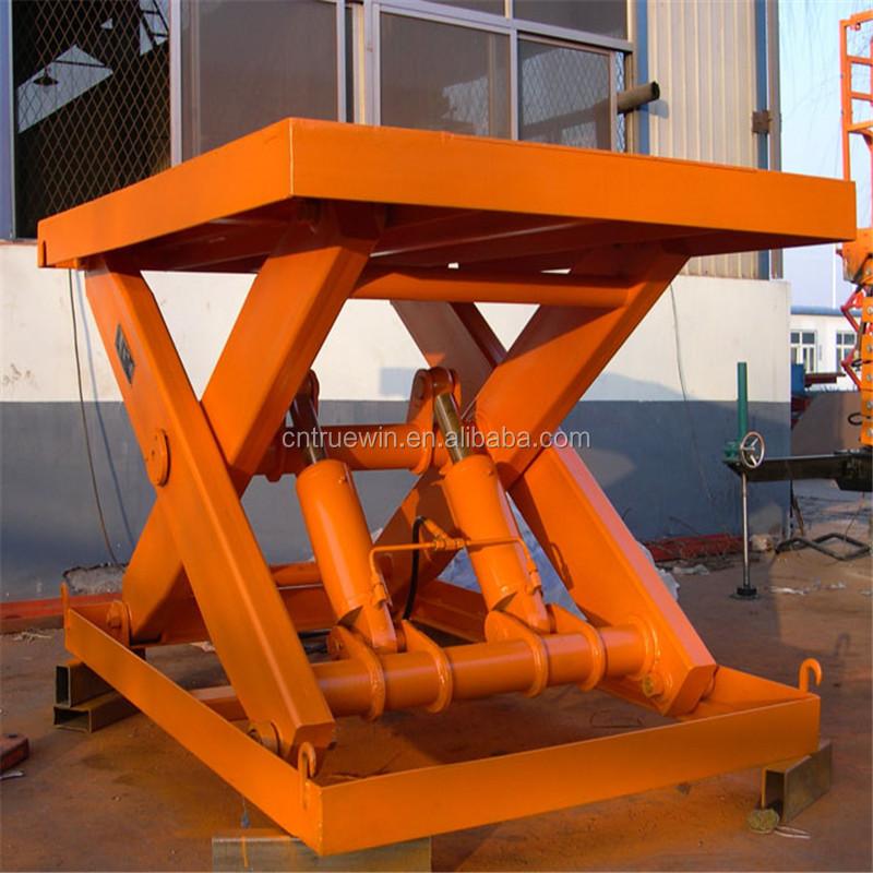 Mini Hydraulic Scissor Lift : Mini electric telescoping lift hydraulic stationary