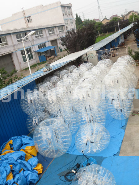 human inflatable bumper bubble ball