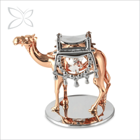 Classic Luxury Rose Gold Plated Indian Home Decor Items