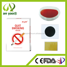 Chinese herbal quit/stop smoking patch and anti smoking patch