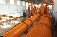 ISO Wood Sawdust Dryer Machine For Sale