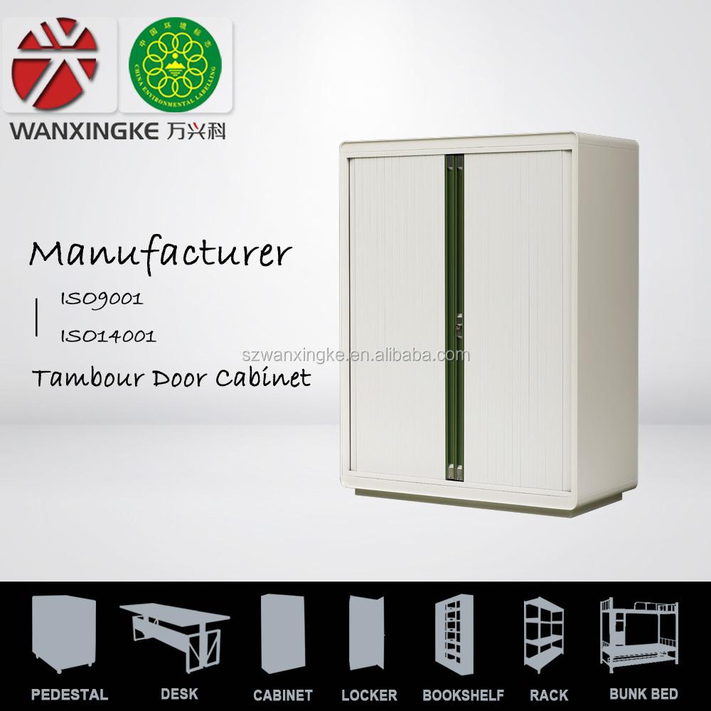 Round Edge Counter Height Tambour Door Filing Cabinet Buy Tambour Door Filing Cabinet Double