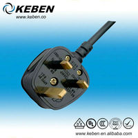 High quality BS approved 250v electrical UK 3 pin plugs