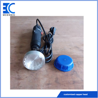 220V electric customized capper head sharp tip lid capping machine