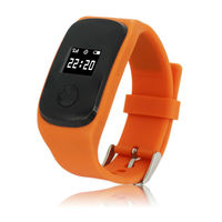 gps bracelet personal tracker for alzheimer, child tracking device caref with LBS &gps position Waterproof level IP 67