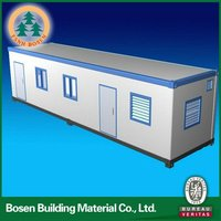 Steel structure prefabricated 40 feet container house