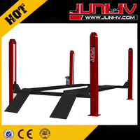 JUNHV 100% good quality four posts vehicle lift with CE JH-4P4000