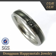 Stainless Steel Gear Ring Jewelry With Sgs Certification