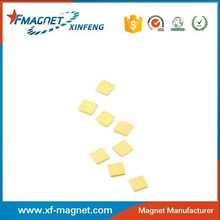 Mini Square NdFeB Magnet Used MP3 Player