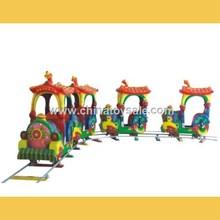 Vivid design electric train for amusement park