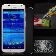 Premium 9H Hardness 0.33mm Thickness 2.5D Anti-Shatter/Scratch Tempered Glass Screen Protector for Motorola Moto E