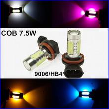 Latest 12v car led lighting 7.5W auto Led fog Light H1 H3 H4 H7 9005 9006