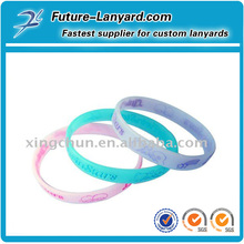 eco-friendly hot popular cheapest silicone wristbands