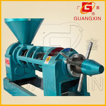 Ex-work oil mill use hot/cold press 6.5T/24hs castor seed seed oil processing machine