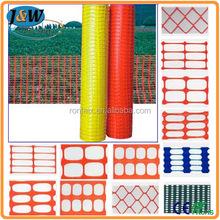 Hot Sale Plastic Construction Safety Fence / Plastic Orange Mesh Fence