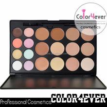 No Brand 20 color mineral concealer makeup 20 contour palette private label cosmetic glitter
