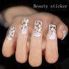water transfer nail sticker printing film patterns,sexy lace nail art sticker