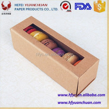 beautiful mini packaging die cut cupcake Unique cake box