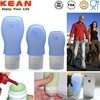 Leak-proof Smart Mini Travel Toiletry Bottle Non-Leak Foldable Silicone Portable Hiking Camping Bottle