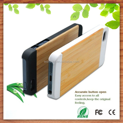cheap price mobile phone case for iphone 5 5s wood, natural pc wooden hard case for iphone 5 6 6plus