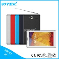 3G 7 inch Quad Core Tablet With SIM Cards Slot GSM TV