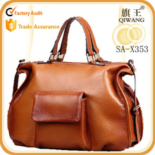 newest top quality cross body bag 100% genuine leather tote bag office bag