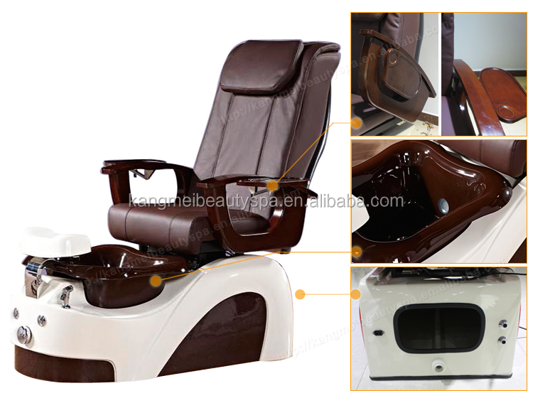 Vending vibrating foot massager/golden beauty equipment spa chair/spa pedicure chairs for sale KM-S177