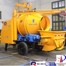 hot selling high efficiency concrete mixer pump trailer, batch pump with best price