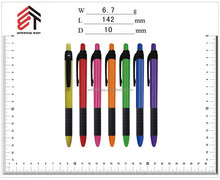 simple nice design promotional advertising plastic ball pen
