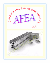 2015 AFEA profilé en aluminium fabricant, 6060 6061 6063 6082 profil en aluminium de qualité