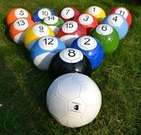 2015 neue snookball spiel, 2015 snookball nuovo gioco, bladder de caucho ball