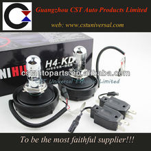 2013 new all in one hid kit H4 6000K