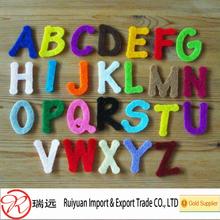 Alibaba Wholesale 26 felt Alphabet letters for kids crafts