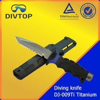 Titanium Sharp Point Diving Knife