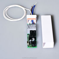 built-in motor tubular controller fixed/learning/rolling code