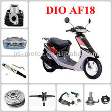 DIO AF18 scooter accessories