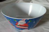 Melamine Big Salad Bowl Xmas Decorations