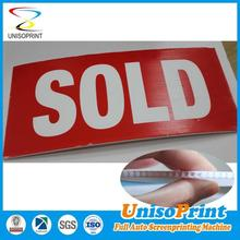 die cut coroplast signs Australia PP Site Safety Signs