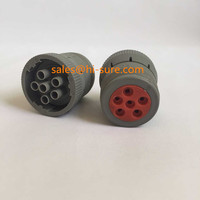 SAE J1708 Deutsch 6Pin connectors for heavy truck diesel engine diagnostic scanner