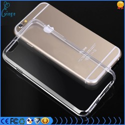 For Iphone 6 soft TPU sillicon case cover, ultra thin colors transparent mobile cover case in factory wholesale price