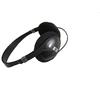 Promotional OEM black plastic headphone plastic overhead headphones with mic High-Fidelity