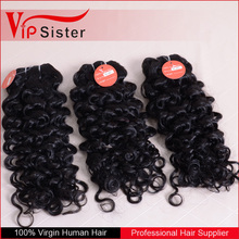 best selling wholesale nappy weave curly water weave human hair