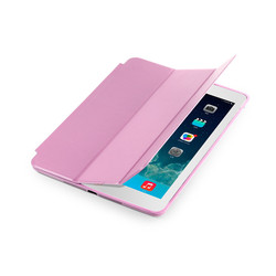 Guangdong factory supply pu leather Case for ipad 5 tablet pink cover for ipad 5