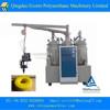 Tri-component micropore elastomer casting machine/steer wheels pu foaming machine/PU solid tyre