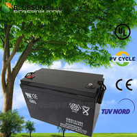 Sealed battery for solar power rechargeable 12v 100ah nicad battery