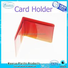 2-fold vinyl golf score card holder