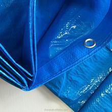 pe tarpaulin, tent material ,waterproof outdoor plastic cover , blue poly tarp ,hdpe fabric